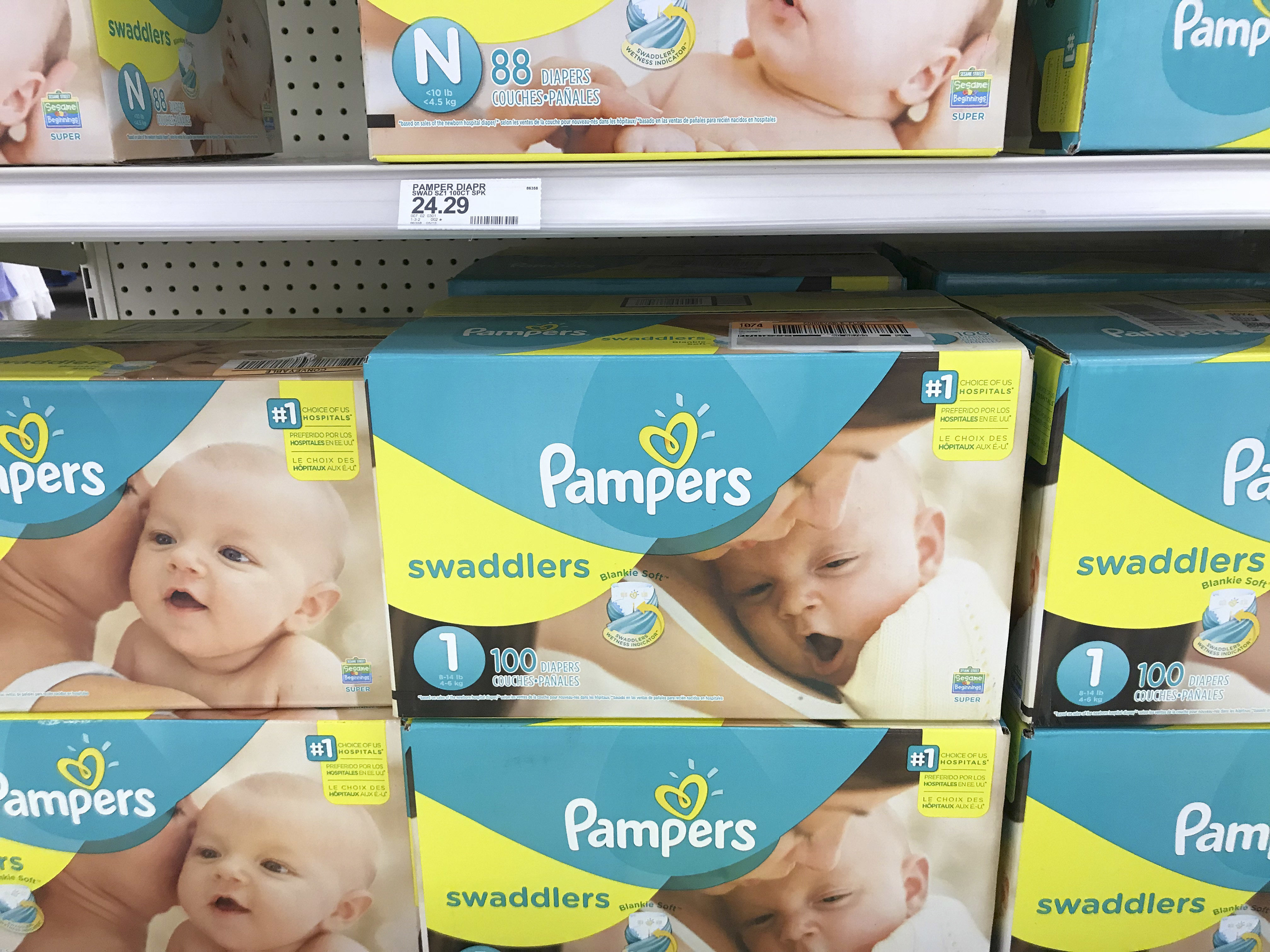 are diapers tax free on tax free weekend