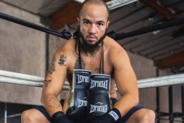 The world's first transgender professional boxer is now the face of Everlast