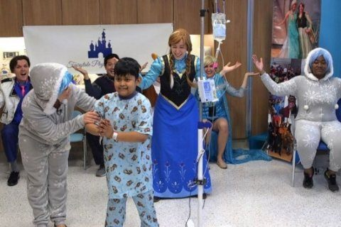 These physical therapists have a magical way to get kids at hospitals up and moving