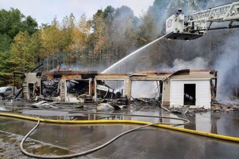 Fire at Calvert Co. winery causes estimated $2.5M in damage