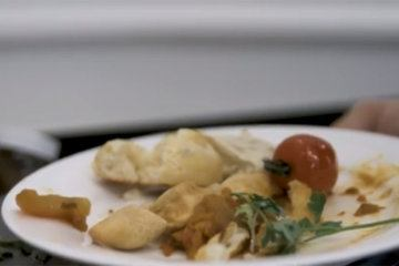 Hi-tech garbage system reduces food waste