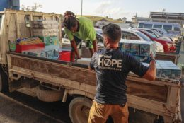 Gustavo Pagan, Logistician for Project Hope,  in Bahamas, Wednesday, Sept.4, 2019. (Javier Galeano, Project Hope)