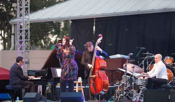 Jane Monheit, Clearwater Jazz Holiday, Florida, 2013. (Photo by Alan John Ainsworth/Heritage Images/Getty Images)
