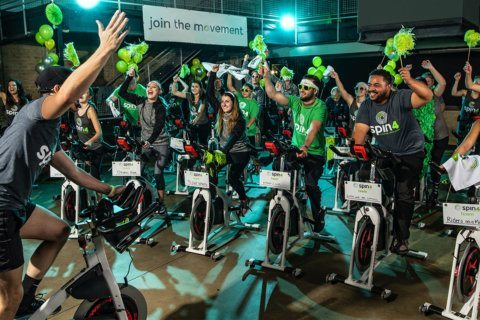 Billed as a party on a bike, DC-area residents will join the nation 'spinning for a cure' on Saturday