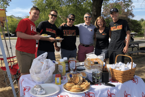 Tailgating Terps: U.Md. (and Penn State) fans gather for showdown