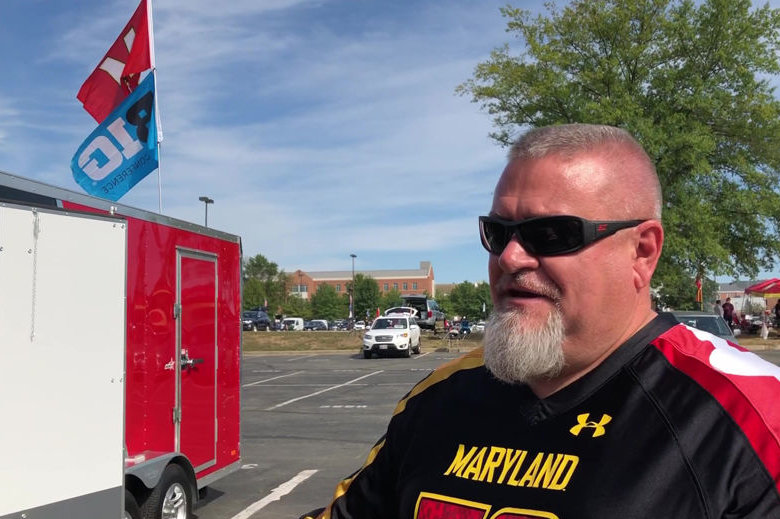 Terps fan and super tailgater Brian Souders