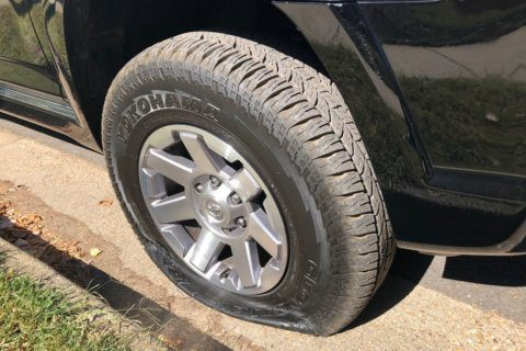 More than 75 car tires slashed in Alexandria neighborhood overnight
