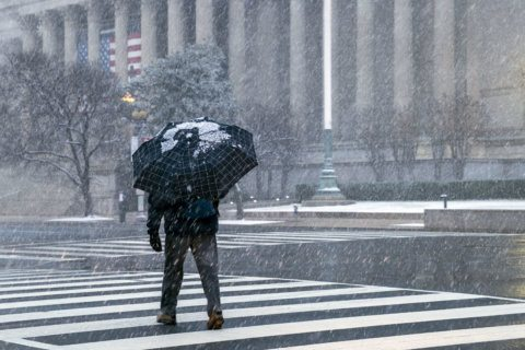 Cold hits DC area ahead of possible Saturday snow