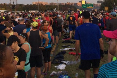 1,500 pounds of banana peels, 2 tons of abandoned clothes: Marine Corps Marathon aims for green goals