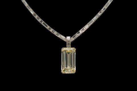 Kimberley Diamond on display at Smithsonian's Museum of Natural History
