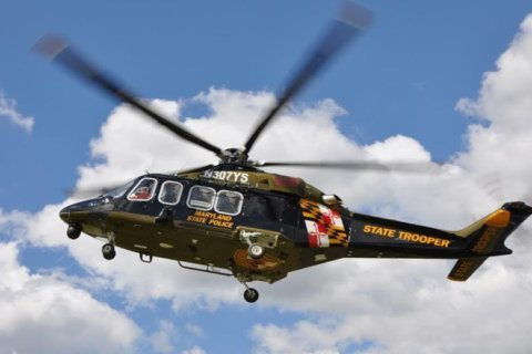 Maryland State Police use helicopter to rescue hiker
