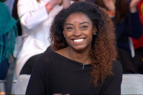 Simone Biles' World Series opening pitch goes viral