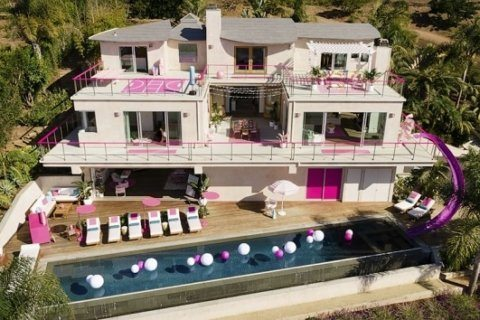 Here's your chance to stay in Barbie's Malibu Dreamhouse