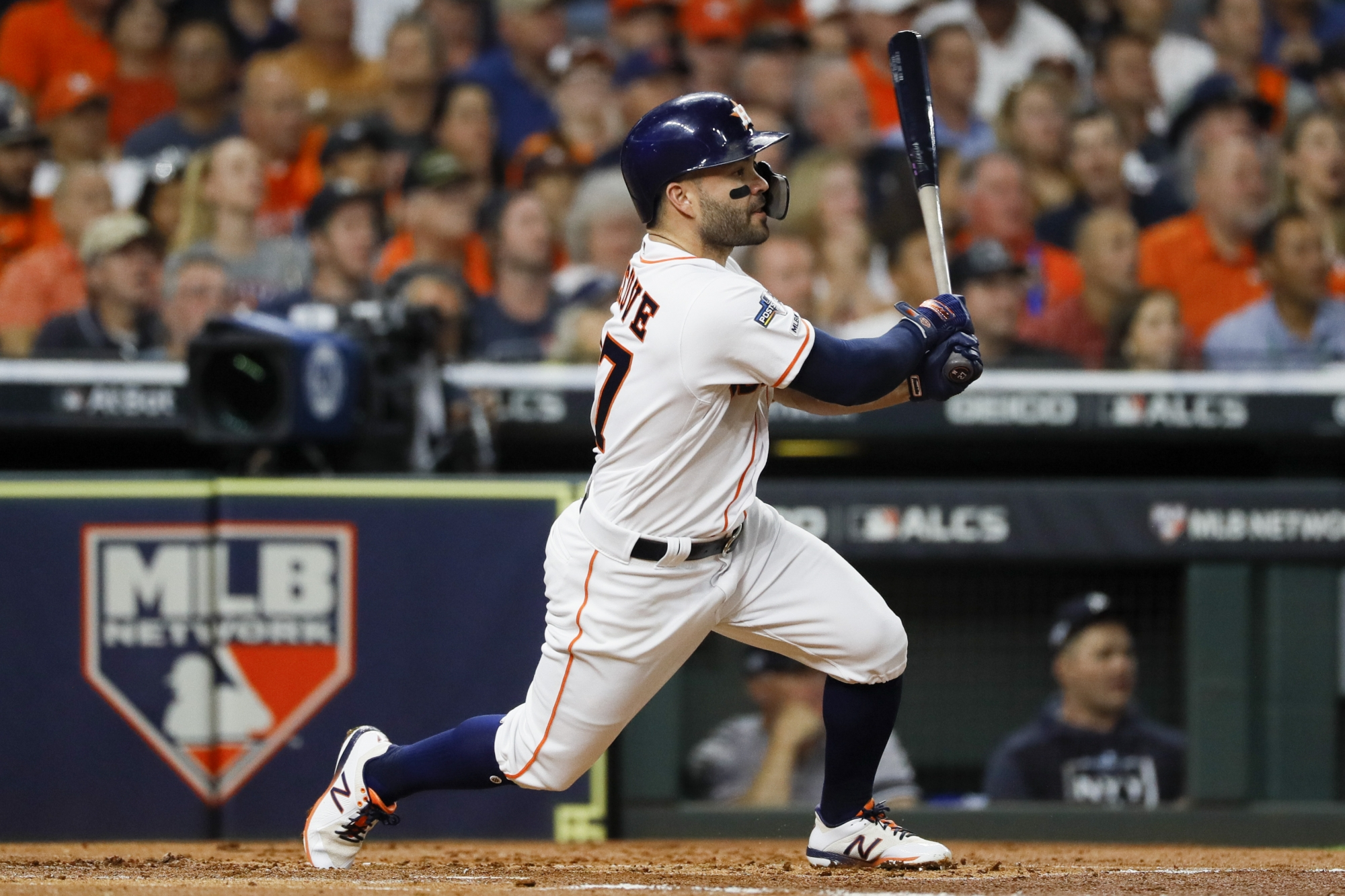 Altuves HR in 9th sends Astros to World Series over Yankees