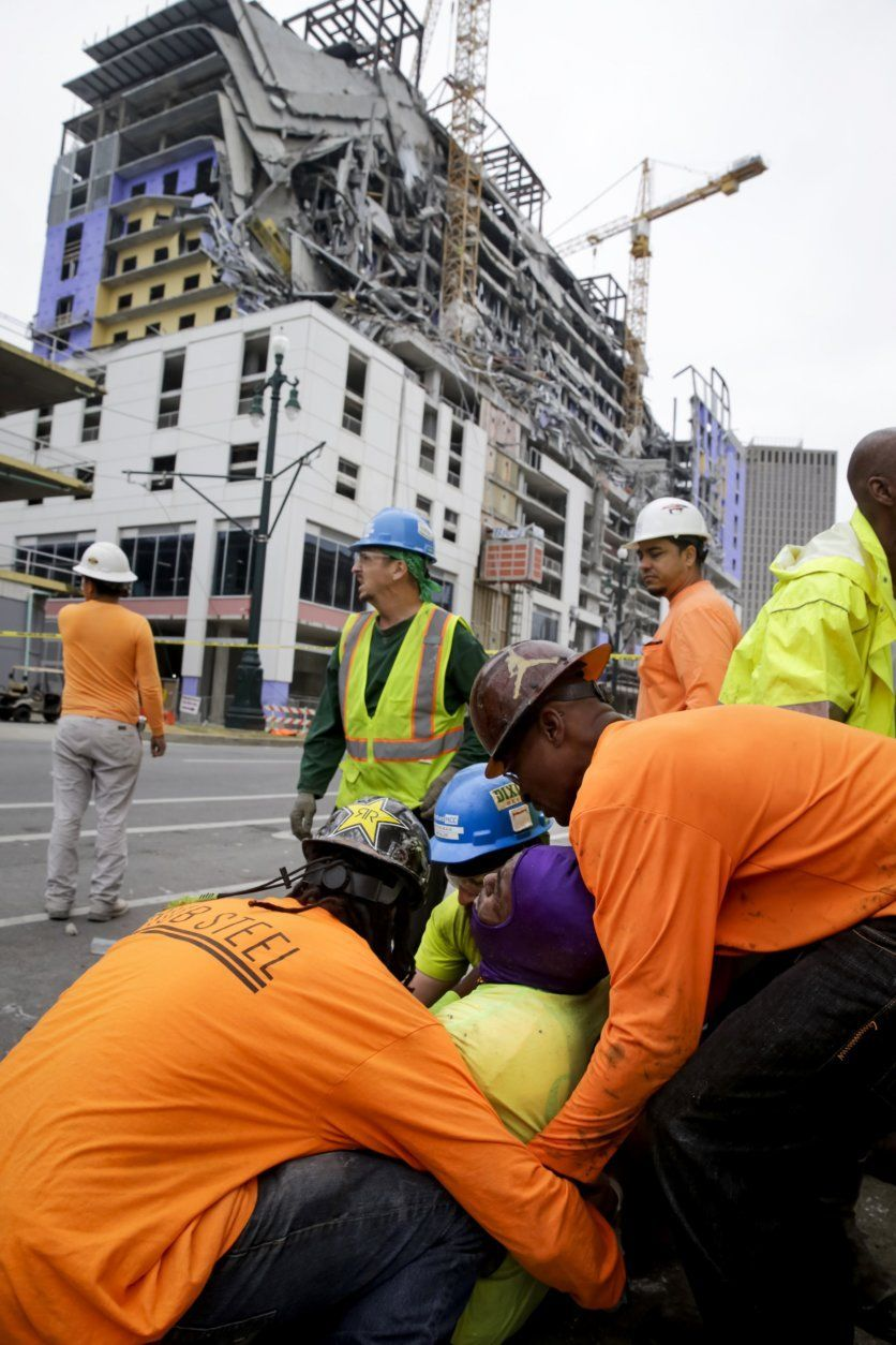 Hotel Collapse In New Orleans Leaves 2 Dead 1 Missing Wtop