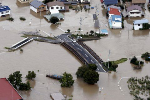 Japan looks for missing after typhoon kills dozens