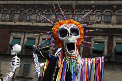 Day of the Dead parade hits Mexico City as holiday expands