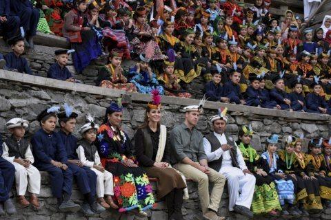 UK's Prince William, Kate see Pakistani cultural hub Lahore