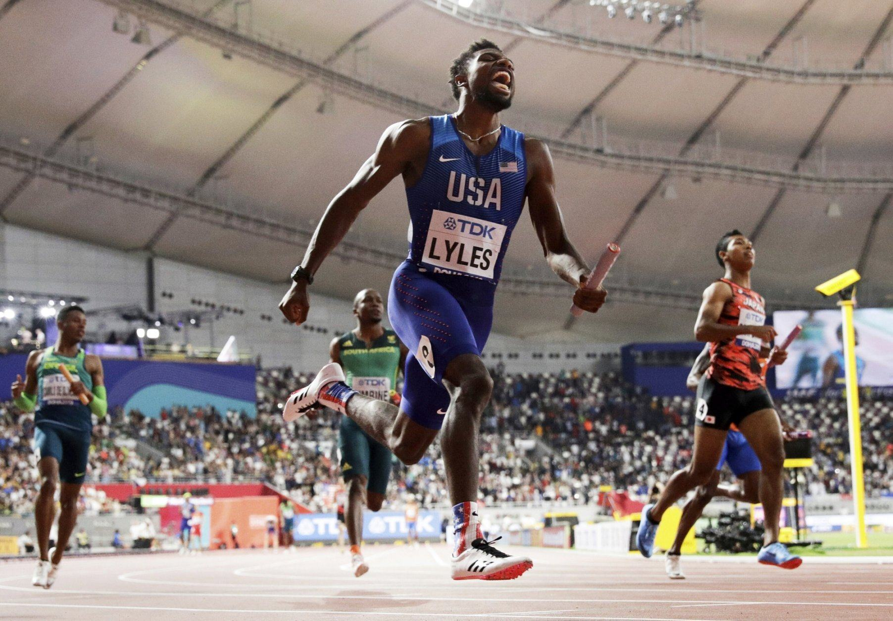 """<p><strong>Is Noah Lyles American track's next breakout star?</strong></p> <p>Speaking of 22-year-olds to know for next summer, if you don't already know who Noah Lyles is, now is the time to learn. The T.C. Williams alum is the top American sprinter heading into the 2020 Games, fresh off a <a href=""""https://www.youtube.com/watch?v=06Wpco4o9zs"""" target=""""_blank"""" rel=""""noopener"""">World Championship win in the 200 meters last year</a>. Lyles skipped the 100 meters at U.S. Nationals in 2019, but he's expected to run both in Tokyo, and will be a medal stand contender — if not the outright favorite — at both distances.</p>"""