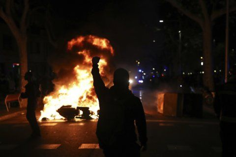The Latest: Spanish PM says he will stand firm amid violence