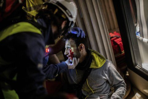 Marches and strikes rattle Catalonia amid separatist anger