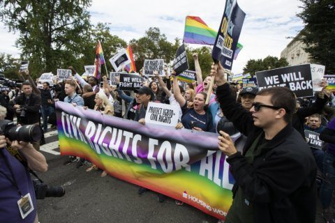 In or out? Court case on job bias casts pall on LGBT fests