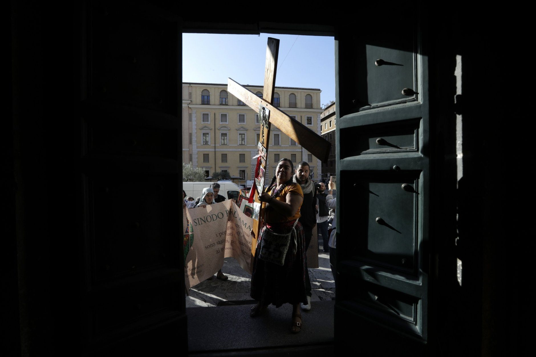 Pope Asks Forgiveness For Destruction Of Amazon Statues Wtop