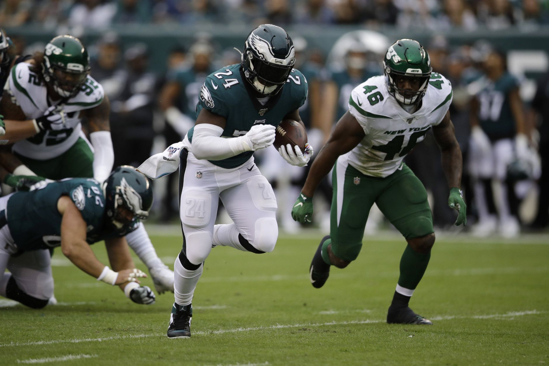 <p><em><strong>Jets 6</strong></em><br /> <em><strong>Eagles 31</strong></em></p> <p>Until Sam Darnold returns, the New York Jets are an extra bye week for their opponents. Except the Redskins. They could definitely beat the Redskins.</p>