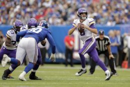 "<p><b><i>Vikings 28</i></b><br /> <b><i>Giants 10</i></b></p> <p>At least for a week, all the talk Kirk Cousins <a href=""https://profootballtalk.nbcsports.com/2019/10/03/kirk-couisns-on-negative-reactions-ignorance-is-bliss/"">swears he never hears</a> about his inaccuracy is minimized and <a href=""https://profootballtalk.nbcsports.com/2019/10/06/adam-thielen-proud-of-how-kirk-cousins-vikings-responded/"" target=""_blank"" rel=""noopener"">all is well with him and his receivers</a>. But the minute he puts up another stinker, trust and believe I will break out <a href=""https://twitter.com/HoodieSiakam/status/1179170695298928640?s=20  "">his old baby gender reveal video</a> &#8212; whether he sees it or not.</p>"