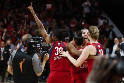 PHOTOS: Washington Mystics win 1st WNBA title