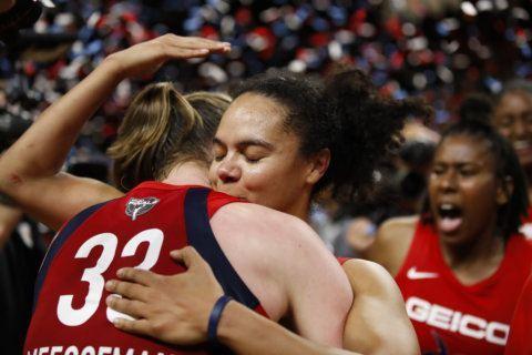 Bringing it home: Delle Donne, Mystics earn 1st WNBA crown