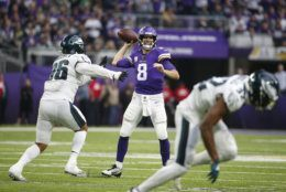 "<p><b><i>Eagles 20</i></b><br /> <b><i>Vikings 38</i></b></p> <p>Given the difference between what Zach Brown had to say about Kirk Cousins <a href=""https://profootballtalk.nbcsports.com/2019/10/11/zach-brown-trashes-kirk-cousins-ahead-of-sundays-game/"" target=""_blank"" rel=""noopener"" data-saferedirecturl=""https://www.google.com/url?q=https://profootballtalk.nbcsports.com/2019/10/11/zach-brown-trashes-kirk-cousins-ahead-of-sundays-game/&amp;source=gmail&amp;ust=1571101182804000&amp;usg=AFQjCNGx4NNcj9uon8gBdTy20cQRZeqkFw"">before</a> this game and <a href=""https://profootballtalk.nbcsports.com/2019/10/13/zach-brown-doesnt-want-to-talk-about-kirk-cousins/"" target=""_blank"" rel=""noopener"" data-saferedirecturl=""https://www.google.com/url?q=https://profootballtalk.nbcsports.com/2019/10/13/zach-brown-doesnt-want-to-talk-about-kirk-cousins/&amp;source=gmail&amp;ust=1571101182804000&amp;usg=AFQjCNFWiAu0i0ZWSo3vzyryQGauTw87Mw"">after</a>, I shall heretofore refer to Brown as Smokey because this felt a lot like <a href=""https://www.youtube.com/watch?v=Kw31fE_AWsI"" target=""_blank"" rel=""noopener"" data-saferedirecturl=""https://www.google.com/url?q=https://www.youtube.com/watch?v%3DKw31fE_AWsI&amp;source=gmail&amp;ust=1571101182804000&amp;usg=AFQjCNF09WA4twTkBpxtxjT8KlEwAW57QA"">his (NSFW) attitude about Deebo</a>. If Philly misses the playoffs, we&#8217;ll certainly point to this early-season underachieving.</p>"