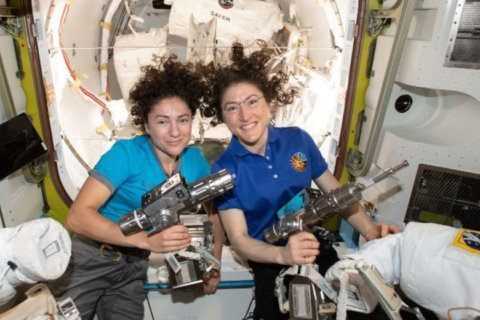 WATCH LIVE: All-female spacewalk at International Space Station
