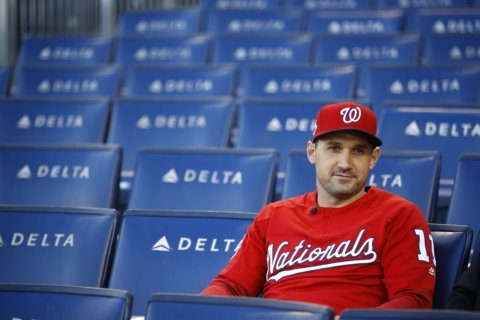 The Nats' 'Face of the Franchise' enjoys October at last