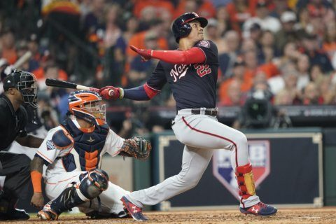 Soto's HR, 3 RBI lead Nats over Astros in World Series Game 1
