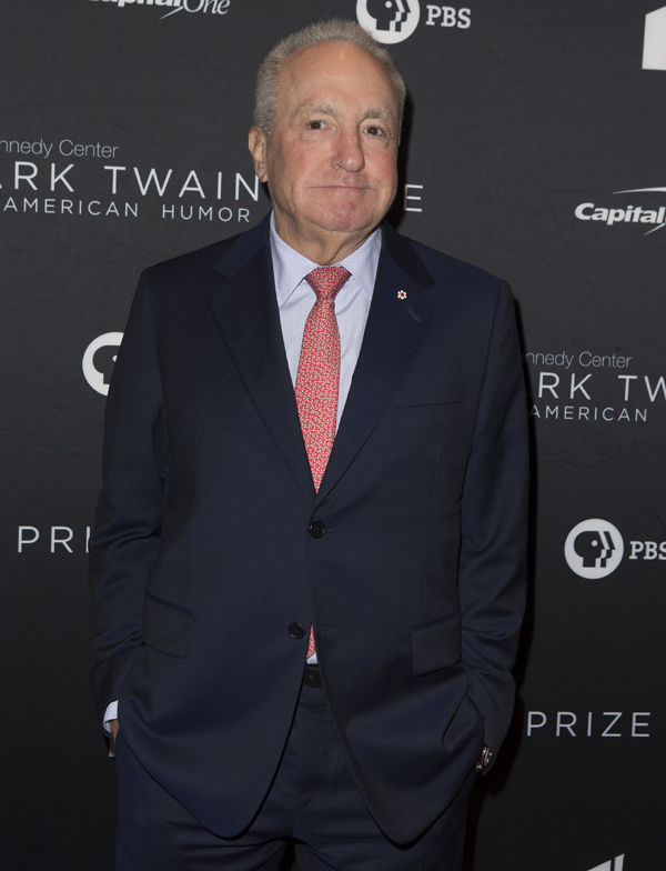 Lorne Michaels arrives at the Kennedy Center for the Performing Arts for the 22nd Annual Mark Twain Prize for American Humor presented to Dave Chappelle on Sunday, Oct. 27, 2019, in Washington, D.C. (Photo by Owen Sweeney/Invision/AP)