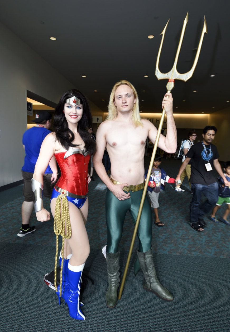 """<p>Online, the definitive authority is obviously <a href=""""https://www.costumesupercenter.com/"""" target=""""_blank"""" rel=""""noopener noreferrer"""">Costume Super Center</a>. Their popular men&#8217;s selections include <a href=""""https://www.costumesupercenter.com/products/grand-heritage-mens-pennywise-costume?via=Z2lkOi8vYnV5LXNlYXNvbnMvV29ya2FyZWE6OkNhdGFsb2c6OkNhdGVnb3J5LzU4OGI4ODllNjk3MDJkNzE5YzE2NDBhNw"""" target=""""_blank"""" rel=""""noopener noreferrer"""">Pennywise,</a> as well as superheroes such as Aquaman and Captain America. Popular women&#8217;s costumes include (sigh) more superheroes, witches and something called a &#8220;Creepy Sister,&#8221;<a href=""""https://www.costumesupercenter.com/products/womens-creepy-sister-costume"""" target=""""_blank"""" rel=""""noopener noreferrer""""> who just looks bored. </a></p>"""