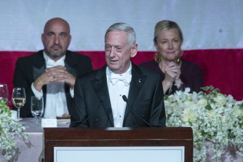 Most overrated? Mattis laughs off Trump barb at charity gala