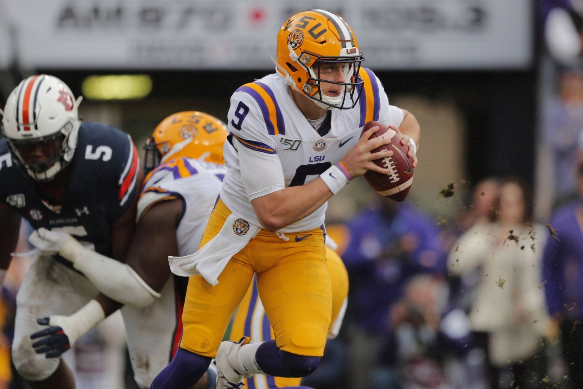 <p><strong>No. 2 LSU (8-0):</strong> Beat Alabama, Win SEC title</p> <p>There's a chance, like 'Bama, that LSU could get away with losing Saturday's matchup, but it would rest on a lot of other things going haywire. If the Tigers can beat the Crimson Tide, they'll control the path to the SEC West title, even with an unlikely slip-up in the final three weeks. Either as an undefeated or one-loss SEC champ, they're in.</p>