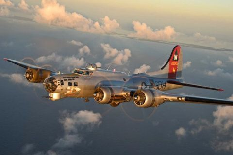 'The greatest bomber': Take a flight in a B-17 this weekend