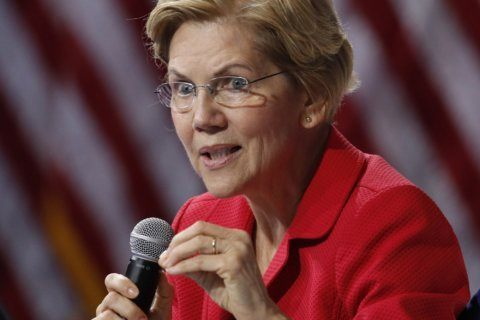 Warren escalates Facebook fight with ad targeting Zuckerberg