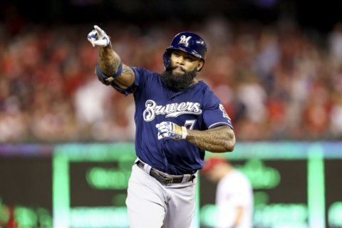 Reports: Nationals sign free agent 1B/OF Eric Thames