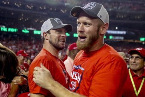 Nationals will ride four rotation horses in World Series