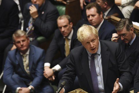 Johnson's future, and UK's, rests on EU move on Brexit delay