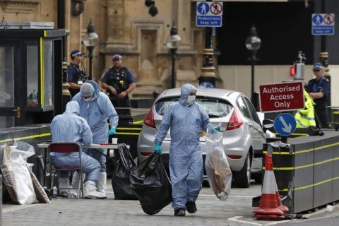 British man gets life for driving into people by Parliament