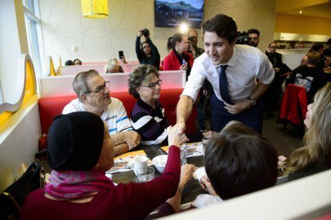 Trudeau could lose power in Canada's election Monday