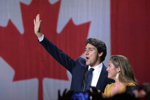 Canada's Trudeau wins reelection but faces a divided nation