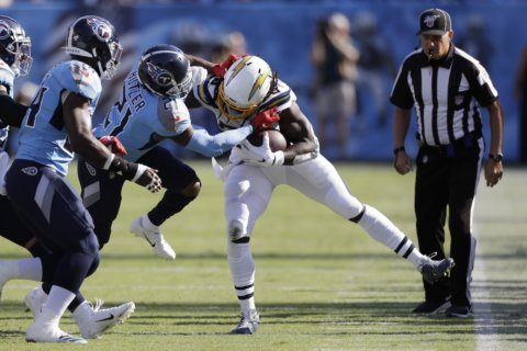 Gordon's frustration beginning to show for Chargers
