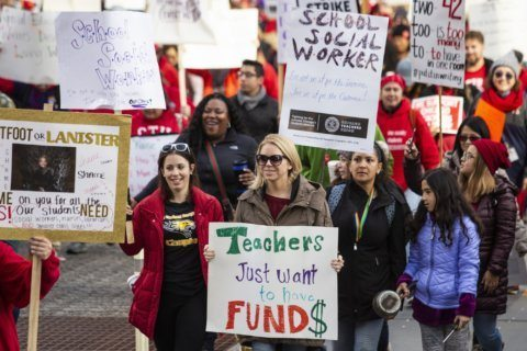 Chicago teachers' strike highlights support staff shortages