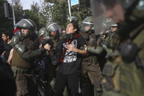 Chilean president shaking up government amid protests